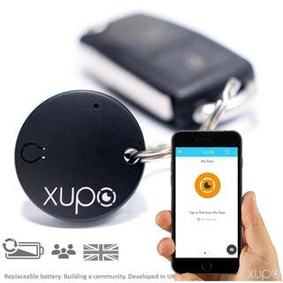 1428. Xupo Key Finder and Item Locator Beacon, British Design Smart Tracker Tag as Seen on Dragons' Den
