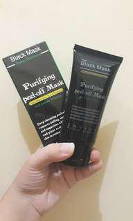 Black Mask peel off by SHILLS Natural Science