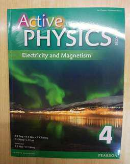 Active Physics 4: Electricity and Magnetism (Pearson)