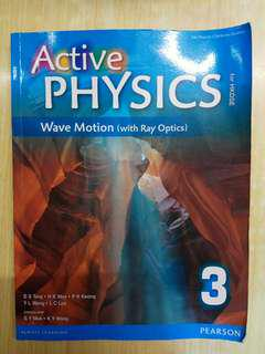 Active Physics 3: Wave Motion (with Ray Optics) (Pearson)