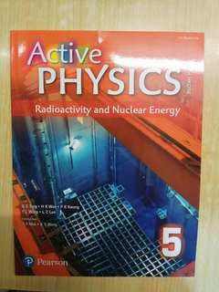 Active physics 5: Radioactivity and Nuclear Energy (Pearson)