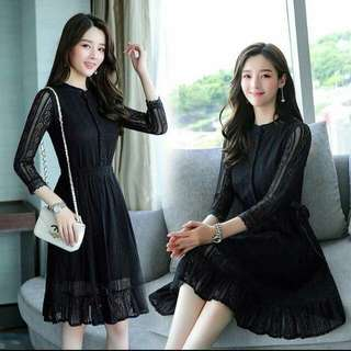 Korean Lace Dress