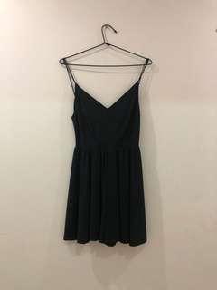 Black flowing jumpsuit