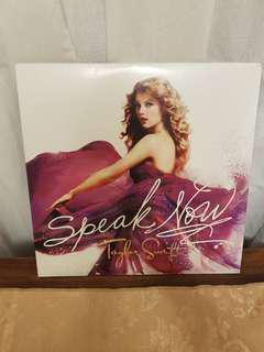 TAYLOR SWIFT SPEAK NOW VINYL RECORD