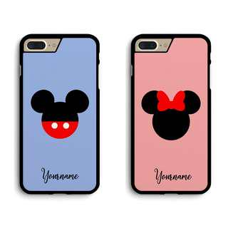 Mickey and Minnie Custom Couple Phone Case