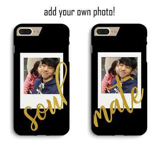 Soulmate Couple Custom Phone Case