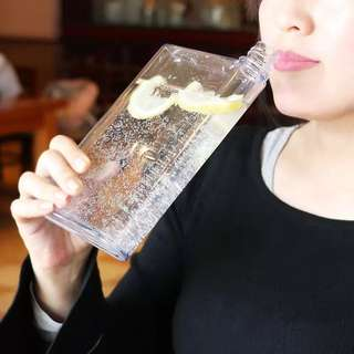 Korean Transparent Creative Paper Water Bottle