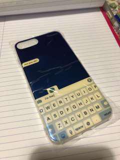 iPhone 7/8 plus texting case