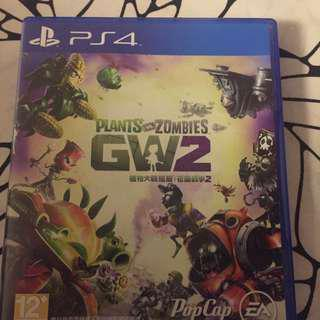 PS4 Plants Vs Zombies GW2 (PS4 植物與喪屍2)