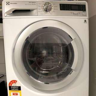 Electrolux washing machine and dryer
