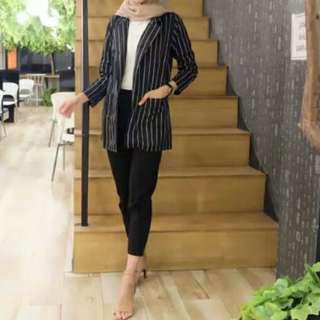 Blazer stripe Zara