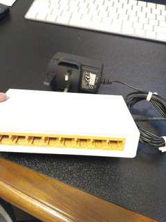Tp-Link 8 Port Fast Ethernet Switch