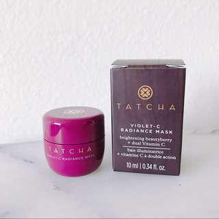 Tatcha c-violet radiance mask 10ml