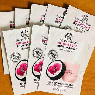 Body shop 身體補濕乳酪系列 快速吸收 48小時長效滋潤 Yogurt 48hr moisturising 包郵