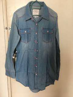 Denim blouse / top