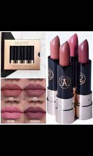 Anastasia Beverly Hills nude lip kit 4pcs