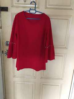Red tops/ blouse