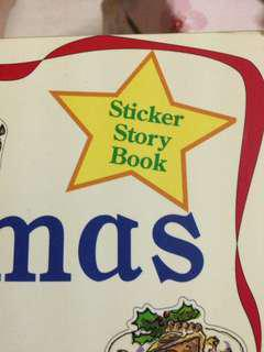 Sticker story book- Christmas 🎄