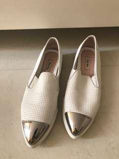 Preloved Women's Miu Miu Cap Toe Sneakers size 38.5 visit us on shoppe @nafisahZ