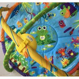 Lamaze Pond Symphony Motion Gym + 5 lamaze play and grow stuffed toys bundle