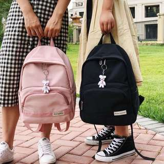 ✨CHIC✨ Canes Korean Pastel Series Backpack Bag