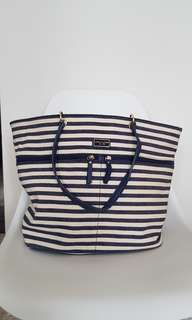 Nautical Style Tommy Hilfiger Stripe Tote
