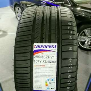 Tyre 295/35 R21 Kinforest 🙋‍♂️ The price shown is estimated