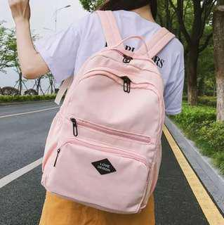 ✨CHIC✨ Delenda Pastel Series Collection Backpack Bag