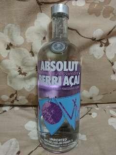 Absolut Berri Acai Vodka 1L