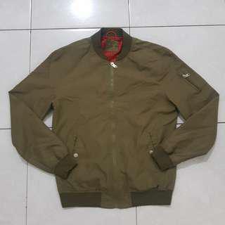 jacket bomber pria bershka sz M mulus like new