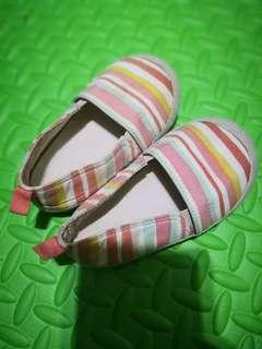 FREEBIE: H&M Striped Sandals