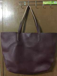 Terranova maroon bag