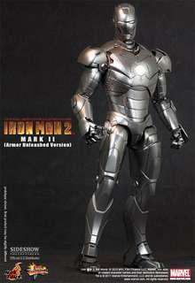1/6 Hot Toys : Iron Man 2 - Mark II (Armor Unleashed Version)