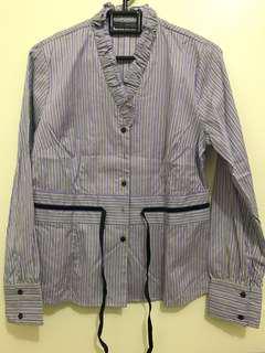 Purple Stripe Shirt - Invio
