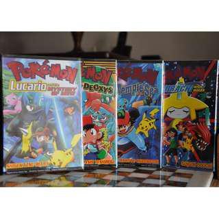 Pokemon Manga Comic Movie Collection