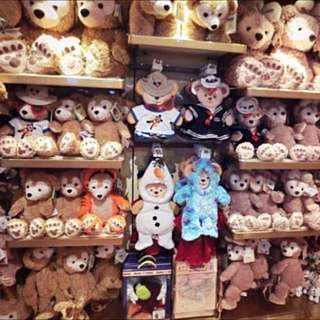 🚚 ✨香港迪士尼購入 達菲Duffy側身掛包