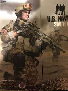 1/6 Soldier Story US Navy Seal Team 1