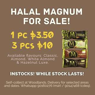 [WILL RESTOCK] HALAL MAGNUM FOR SALE!