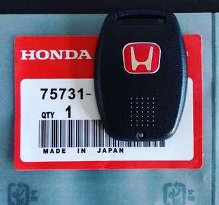 Red Honda Emblem Key Cover for Civic FD / Stream /Fit / Jazz