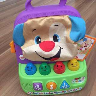 Fisher Price Smart Stages ABC Count Colours Music And Lights Bag Educational Baby Toy