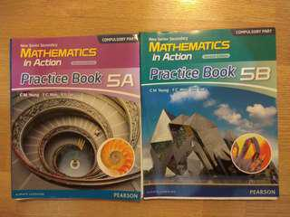 NSS Mathematics in Action Practice Book 5A + 5B