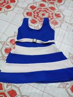 Blue dress preloved