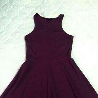 H&M Dark Purple Dress