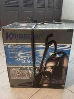 Vacuum Cleaner Krisbow Compact Cyclone Water Filtration