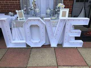 Marquee letters for rent