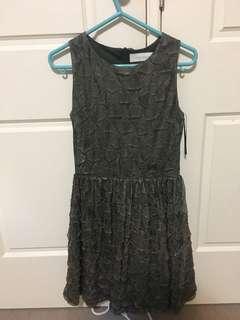 Zara crinkle dress