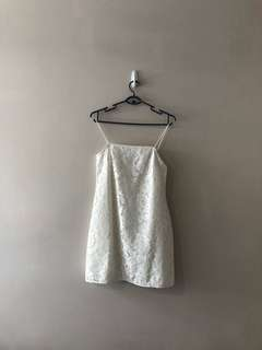 Love bonito white lace dress