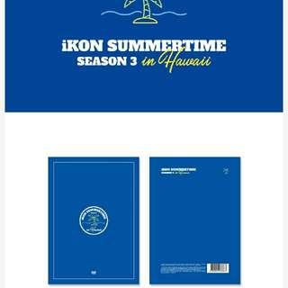 Preorder]  iKON SUMMER TIME SEASON3 in HAWAII [LIMITED EDITION]