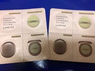 全新Laneige Cover Cushion & Concealing Base