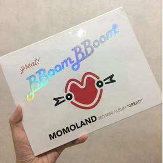 SEALED Momoland Great! Album ONHAND